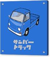 Custom Color Subaru Sambar Truck Acrylic Print