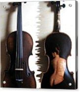 Custom Gliga Violin 2 Acrylic Print