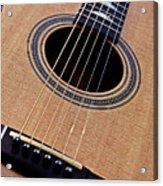 Custom Made Guitar Acrylic Print