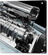 Custom Racing Car Engine Acrylic Print