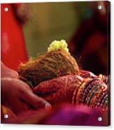 Customs Of The Kannada Wedding Acrylic Print