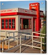 Cute Little Route 66 Diner Acrylic Print