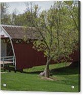 Cutler - Donahoe Covered Bridge - Madison County - Iowa Acrylic Print