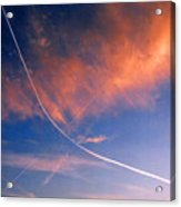 Cutting The Sky 3 Acrylic Print