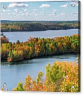 Cuyuna Country State Recreation Area - Autumn #1 Acrylic Print