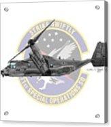 Cv-22b Osprey 71sos Acrylic Print