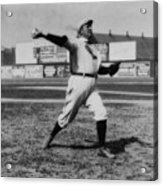 Cy Young With The Boston Americans 1908 Acrylic Print