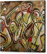 Cyber Jazz Acrylic Print