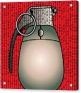 Cyber Warfare, Conceptual Artwork Acrylic Print