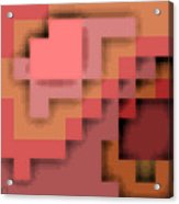 Cyberstructure 12 Acrylic Print by Eikoni Images