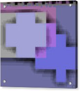 Cyberstructure 3 Acrylic Print by Eikoni Images