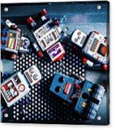 Cyborg Technology Reset Acrylic Print