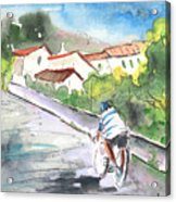 Cycling In Italy 01 Acrylic Print
