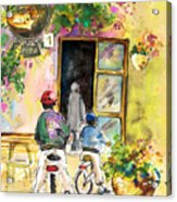 Cycling In Italy 04 Acrylic Print