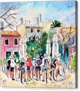 Cycling In Majorca 05 Acrylic Print