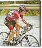 Cyclist Acrylic Print