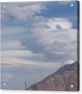 Cyclone Cloud Crowd Acrylic Print