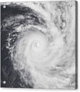 Cyclone Zoe In The South Pacific Ocean Acrylic Print