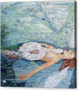 Cygnets Penn And Mermaid Acrylic Print