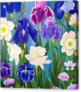 Cynthia's Garden Acrylic Print