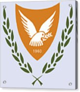 Cyprus Coat Of Arms Acrylic Print