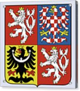 Czech Republic Coat Of Arms Acrylic Print