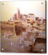 D Alt Vila Ibiza Old Town Acrylic Print