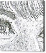 D D Eyes Acrylic Print by Carol Wisniewski