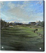 D P World Tour Championship - 18th Tee Acrylic Print