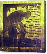 D U Rounds Project, Print 12 Acrylic Print