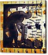 D U Rounds Project, Print 14 Acrylic Print