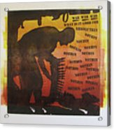 D U Rounds Project, Print 18 Acrylic Print