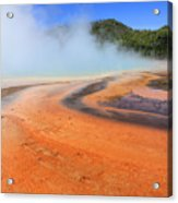 D09132 Colorful Grand Prismatic Spring Acrylic Print