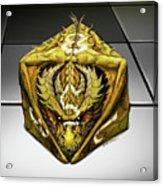 D8 Dragon Acrylic Print