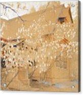 Dacha In Spring Acrylic Print