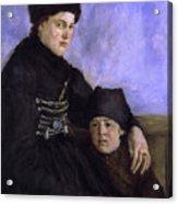 Dachau Woman And Child Acrylic Print