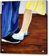 Dad And Me Acrylic Print