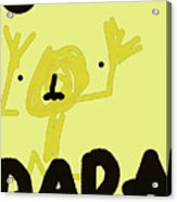Dada Poster 1 Acrylic Print