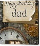 Dad's Birthday Acrylic Print