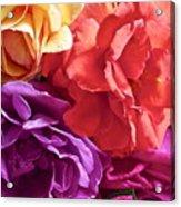 Dad's Roses Acrylic Print