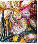 Daffodil Delirium Acrylic Print