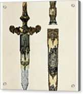 Dagger And Sheath Acrylic Print