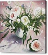 Dahlia Vase  Acrylic Print