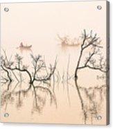 Dai Ninh Lake, Vietname Acrylic Print