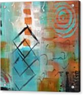 Daily Abstract Week 2, #3 Acrylic Print