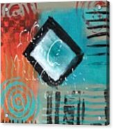 Daily Abstract Week 2, #5 Acrylic Print