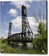 Dain City Railroad Bridge Acrylic Print