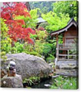 Daisho In Temple Acrylic Print