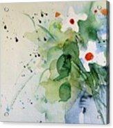 Daisy In The Vase Acrylic Print