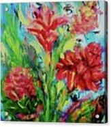 Dala Flower The Flower Of The Ampawa River Maket Acrylic Print
